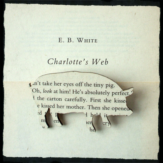 Web of Words E.b. White Quotes
