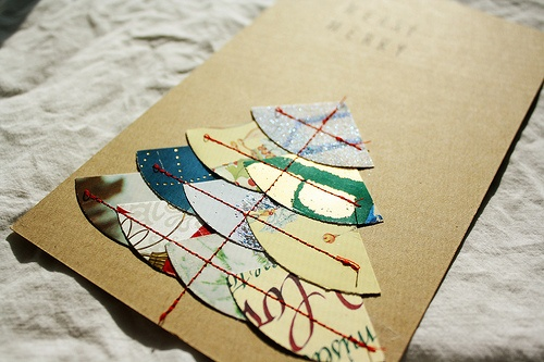 Recycling your Christmas cards -