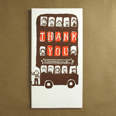 thank you, egg press cards, national letter writing month