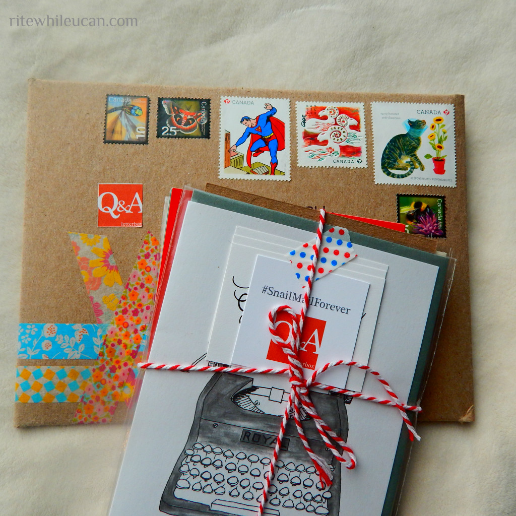 cards, mail, subscription, snailmail, canada,