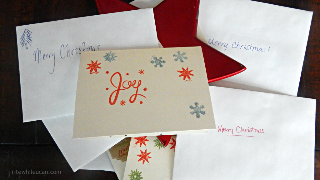 DIcenterproject6 MakeItMerry Tips on sending cards