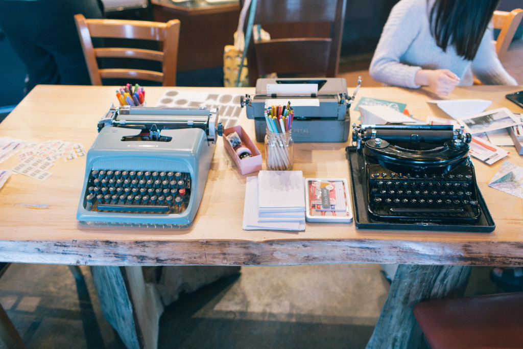 How to DIY Letter Writing Social, typewriters, stamps, letters, writing, snail mail