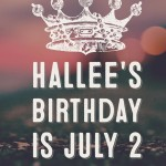 Send a Birthday card to Hallee