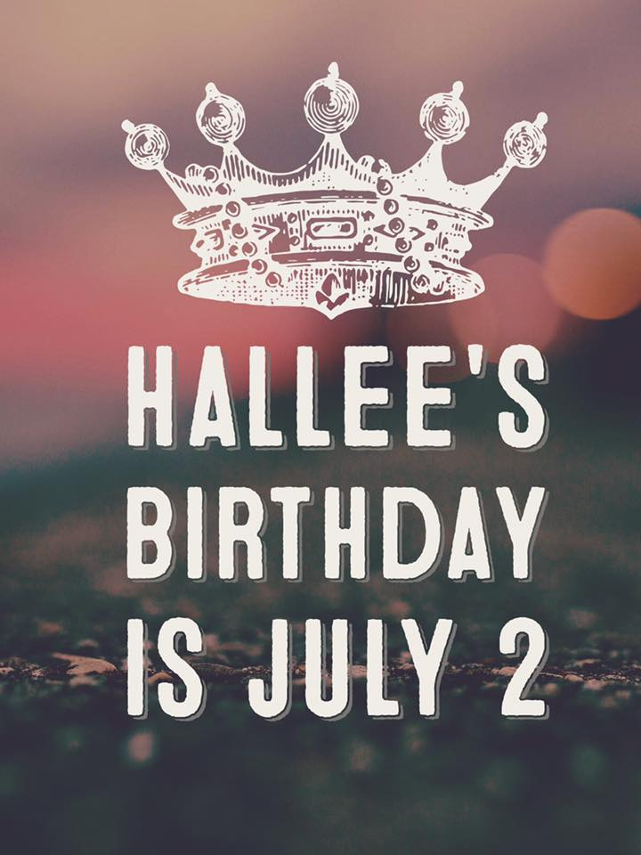 send a birthday card to hallee - Send Birthday Card