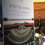 Poets with typewriters hit the street