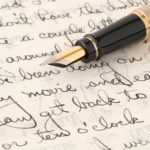 Letter Writing Social featuring fountain pens
