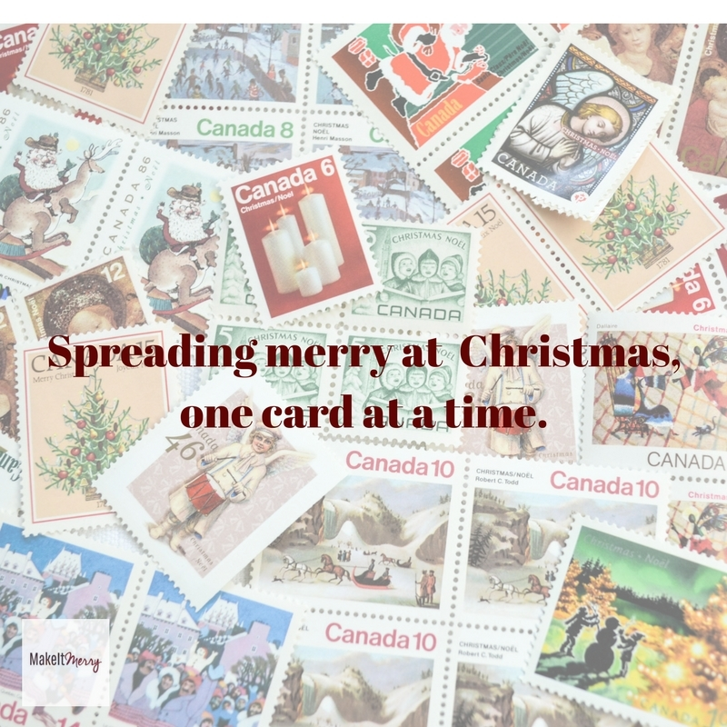 MakeItMerry 2016 Christmas cards for the homeless