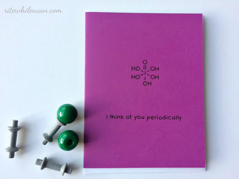 cards for your Chemist, science, cards, mail, chemistry