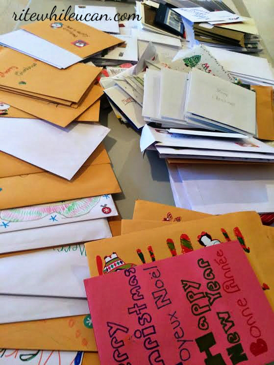 send a christmas card to someone who is homeless, Christmas cards, handwritten, mail