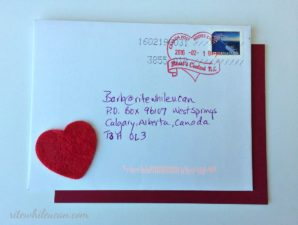 win their heart with special Valentine's Day cancel stamps