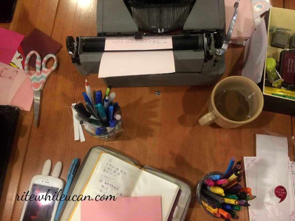 Letter Writing Socials, letter writing, typewriters, snail mail