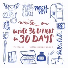 Write_On letter writing campaign 2017