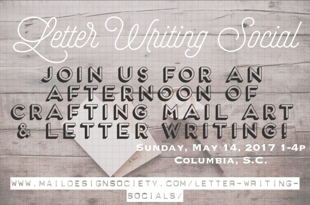 Letter Writing Social in South Carolina, Writing, Letters, Social