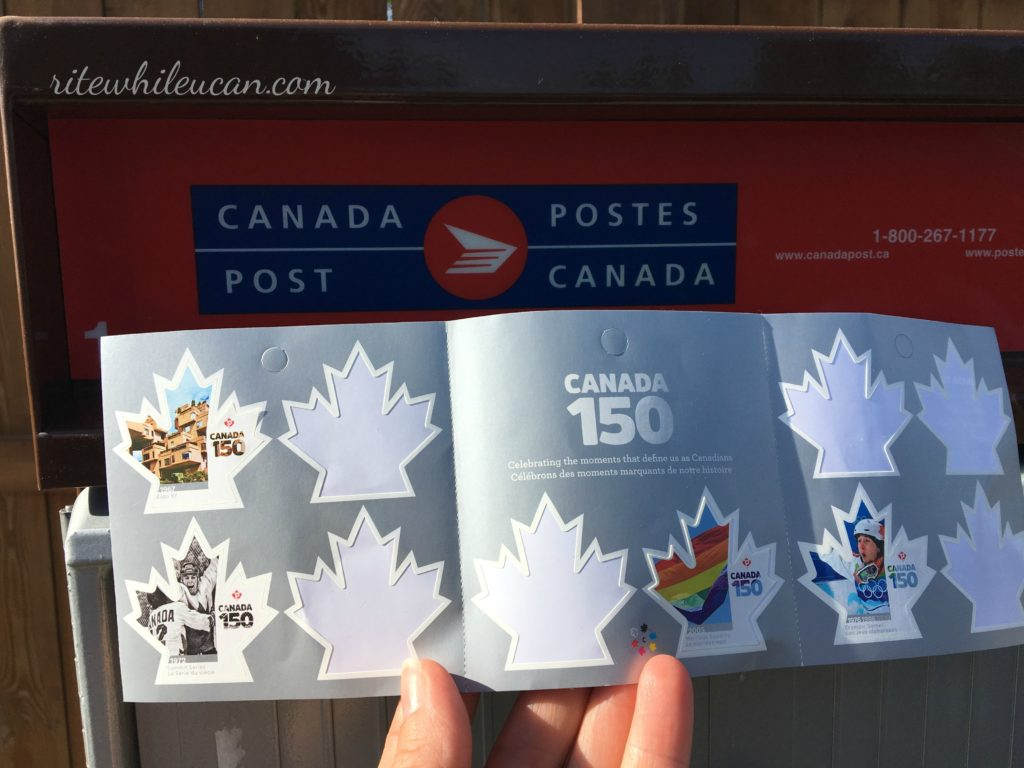 new series of stamps showcase Canada at its best