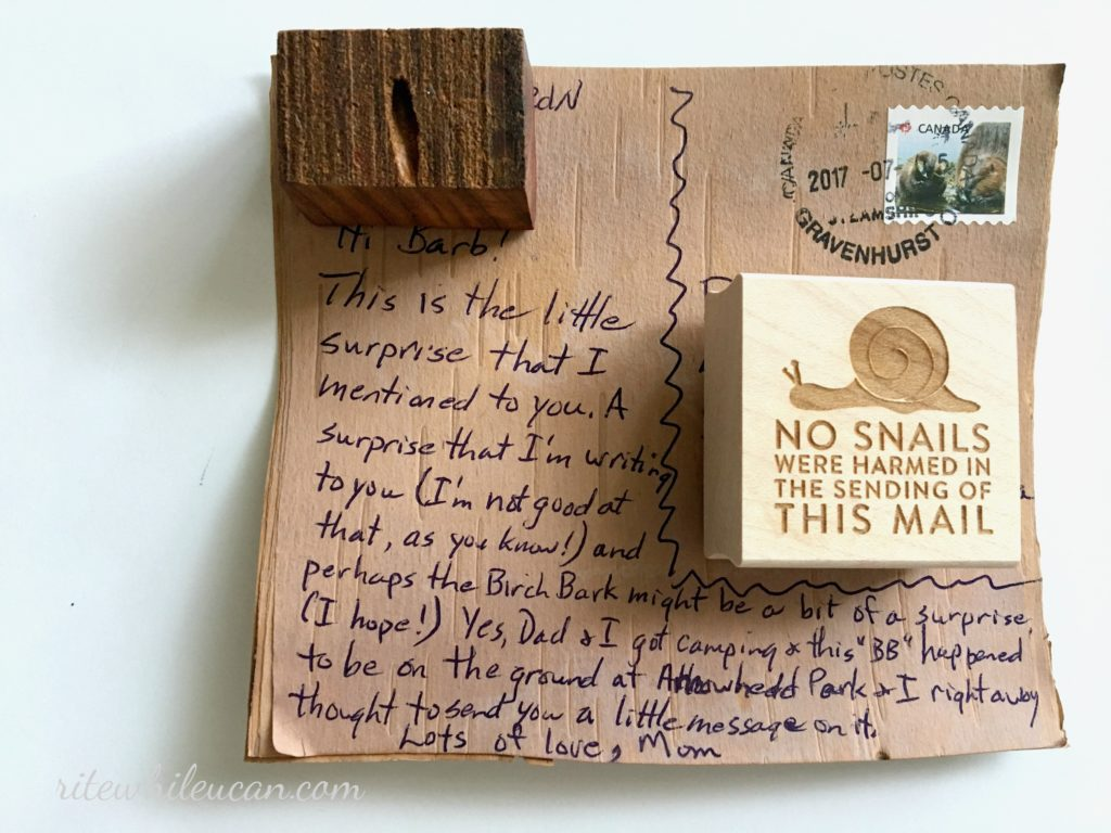 Fun ideas of what you can send through the mail