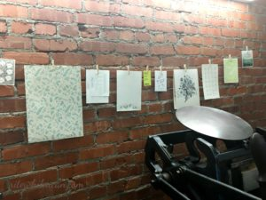 A new letterpress shop in town – Feast Letterpress