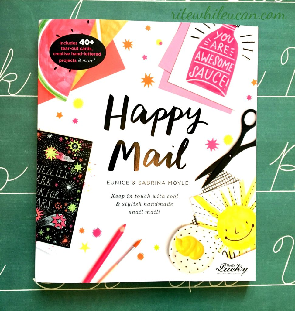 """win a copy of new book """"Happy Mail."""""""