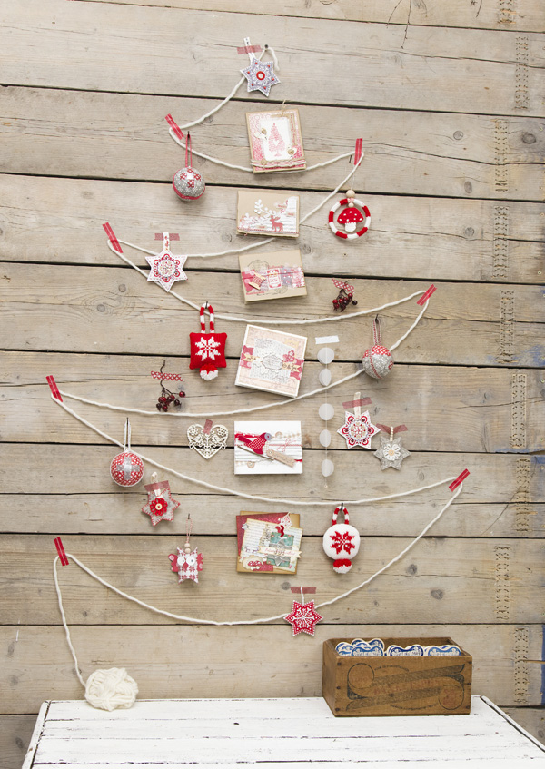 6 ways to display christmas cards - rite while u can
