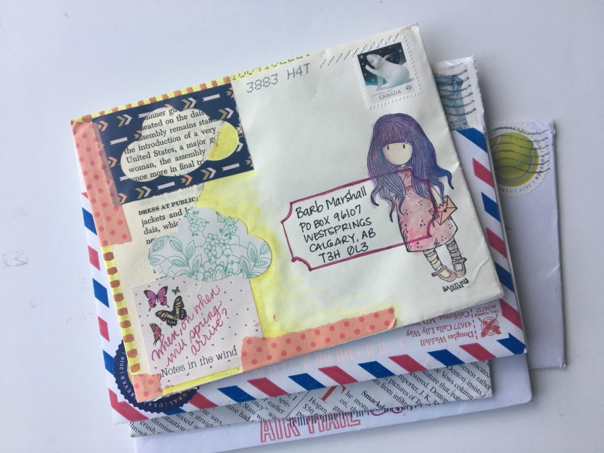 Snail Mail Exchanges - rite while u can