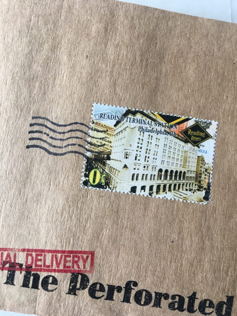 Custom perforated stamps - rite while u can